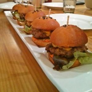 Miniature Lamb Burgers