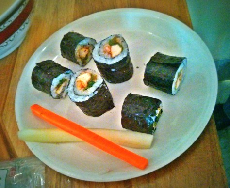 Our version of the Sushi