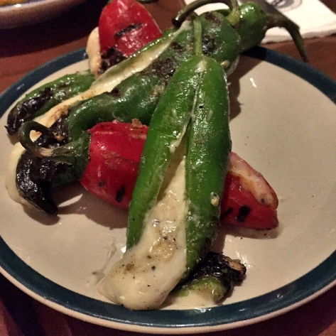 Stuffed Grilled Chillies