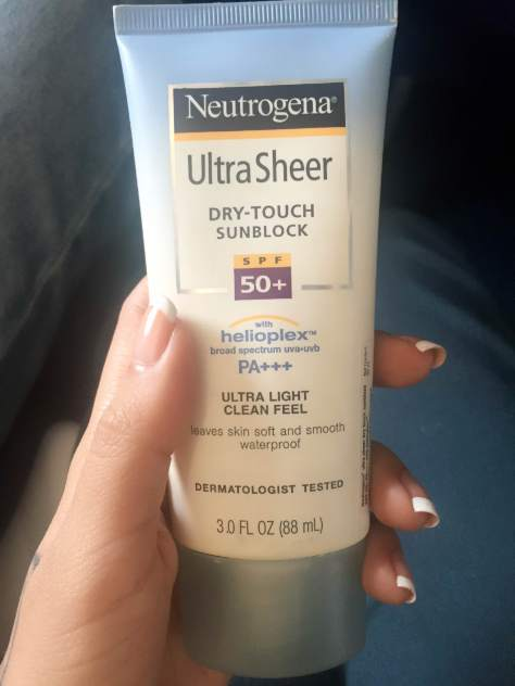Neutrogena Ultra Sheer Dry Touch Sunscreen SPF 50+ Review & Price