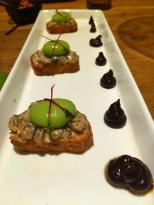 Olive and Mushroom Crostini