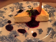 Baked Philly Cheesecake